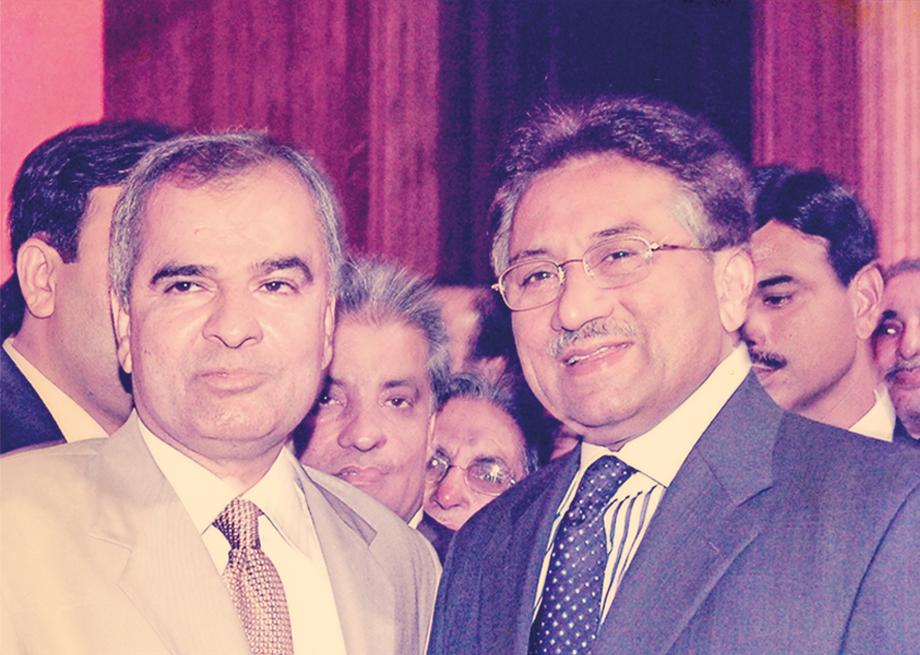 <b>2006</b> Receiving Gold Medal from President Gen. Pervaiz Musharaf